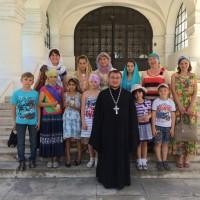 Паломническая поездка Кулаковской воскресной школы