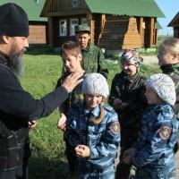 """12 июня 2014 года проведена инспекция  Православного семейного лагеря """"Дружина"""" (фотоальбом)."""