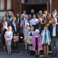 Встреча крымских паломников в Богородицерождественском соборе г. Орехово-Зуево