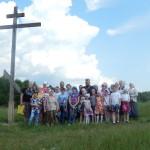 Поездка прихожан Вознесенского храма села Барановское в Николо-Радовицкий монастырь