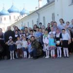 Паломничество учеников воскресной школы Никольского храма г. Пушкино