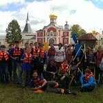 Летний лагерь Одинцовского благочиния на Валдае