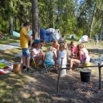 Летний православный молодежный лагерь в Волоколамском благочинии