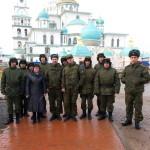Паломническая поездка военнослужащих в Ново-Иерусалимский монастырь