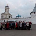 Паломничество прихожан Казанского храма села Петровское в Высоцкий мужской монастырь г. Серпухова