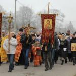Крестный ход в день памяти великомученика Димитрия Солунского в Озерском благочинии