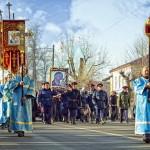 Крестный ход в Павловском Посаде в день празднования Казанской иконы Божией Матери