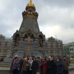 Паломническая поездка прихожан Серафимовского храма села Алабушево по храмам г. Москвы