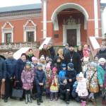 Паломничество воскресной школы Михаило-Архангельского храма поселка Архангельское в Высоко-Петровский монастырь