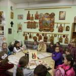 Юные художники на приходах Пантелеимоновского и Преображенского храмов г. Жуковского