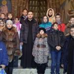 Паломническая поездка воспитанников Серпуховского детского реабилитационного центра в Троице-Сергиеву лавру