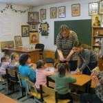 Подопечные социально-реабилитационного центра «Родник» в Казанском храме г. Раменское