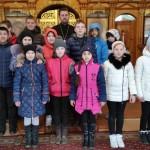 Экскурсия учащихся средней школы поселка Шатурторф в Казанский храм села Петровское