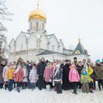 Зимний паломнический слет Епархиального детского молодежного лагеря «Благовест»