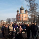 Паломничество в Донской монастырь прихожан Успенского храма г. Химки.