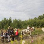 Конный поход в Серебрянопрудском благочинии