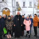 Паломничество прихожан Феодоро-Стратилатовского храма села Большое Колычево