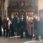 Экскурсия для воспитанников Коломенского дома-интерната в Бобреневом монастыре