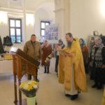 Принесение новой святыни в Свято-Духовский храм села Шкинь
