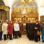 Гости в Бобреневом монастыре