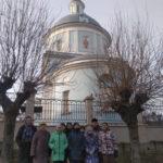 Гости на приходе Покровского храма города Коломны