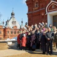 Паломничество прихожан Георгиевского храма г. Дедовска к святыням Александрова